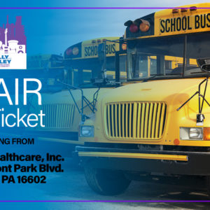 Blair County Bus Ticket Image