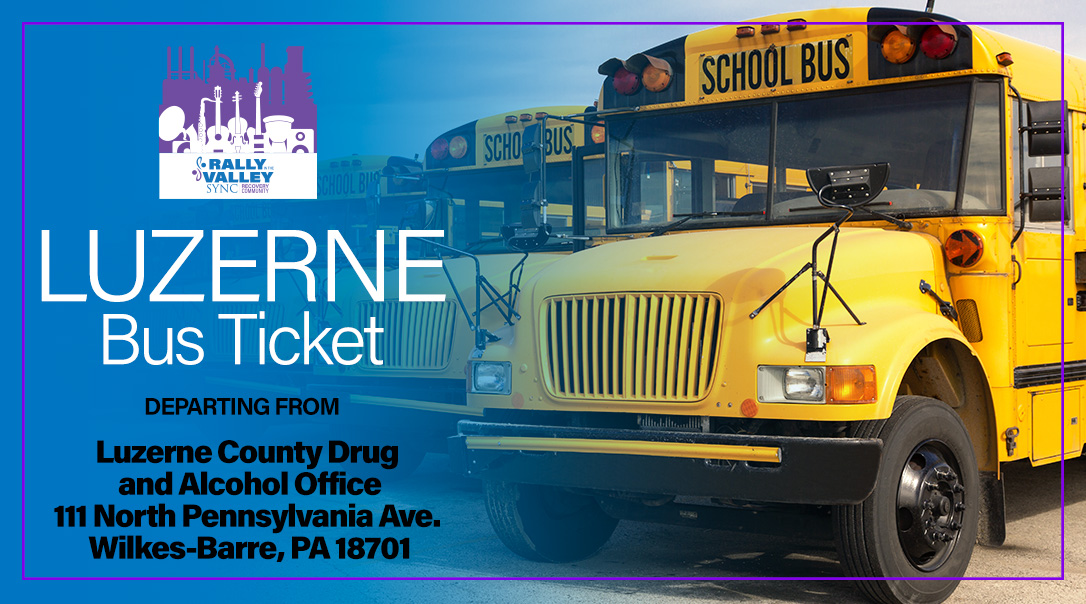 Luzerne County Bus Ticket image