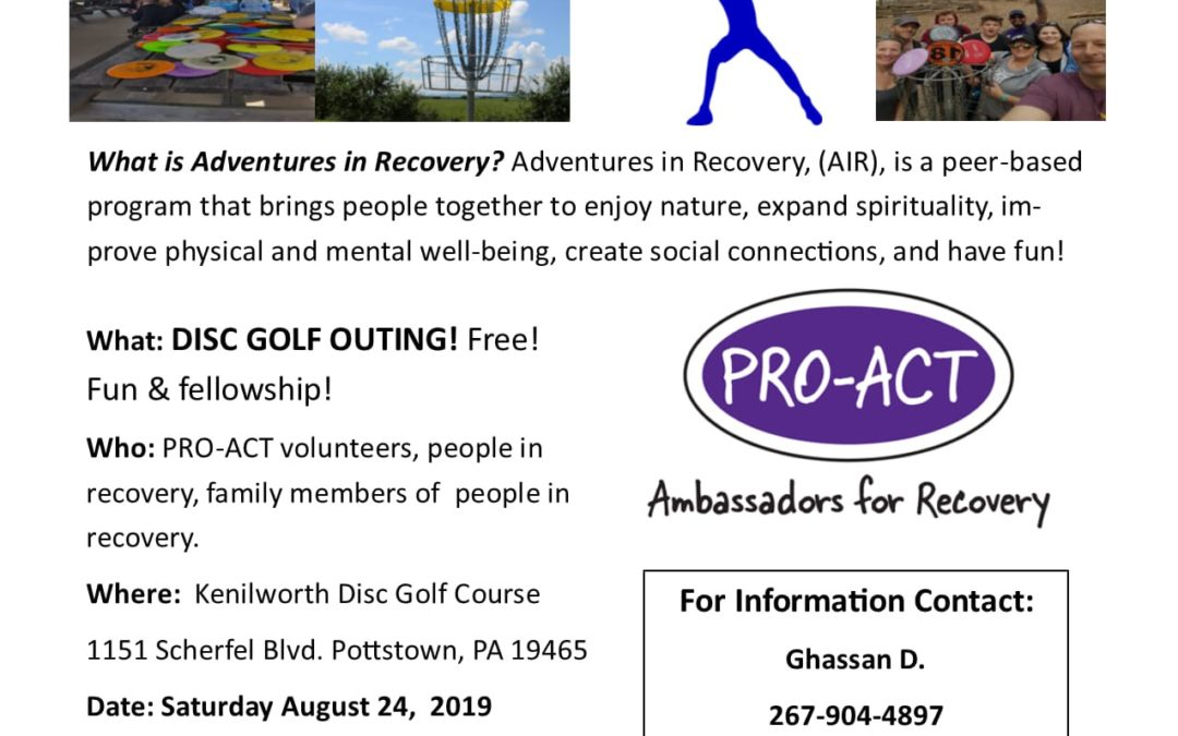 PRO-ACT Disc Golf Outing