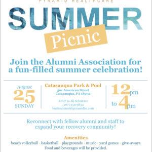 pyramid alumni picnic flyer