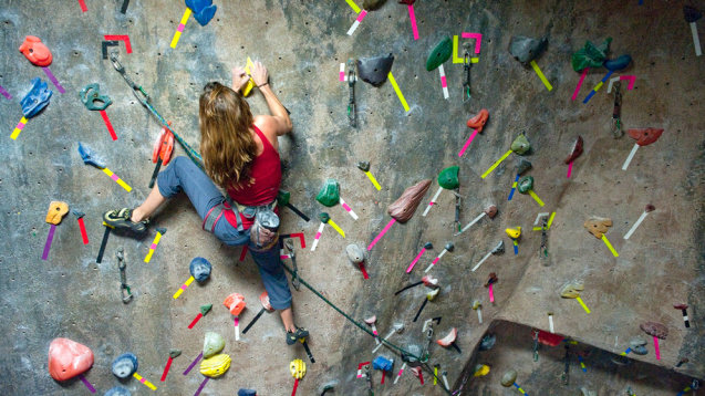 Sync Recovery Rocks at Doylestown Rock Gym
