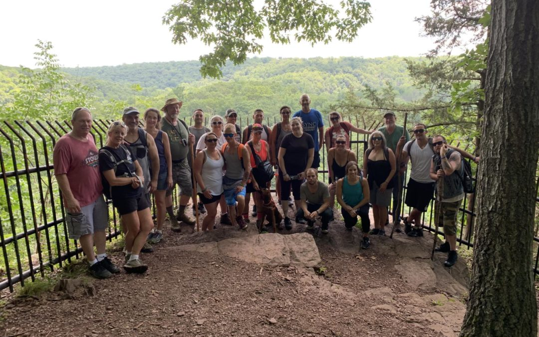 Sync Recovery Adventure-Hike & Swim Tohickon Valley Park