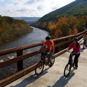 bike at lehigh gorge