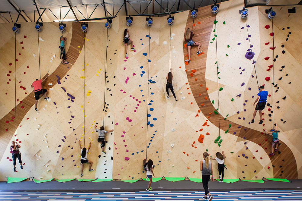 Indoor Rock Climbing-CANCELLED –See Disc Golf