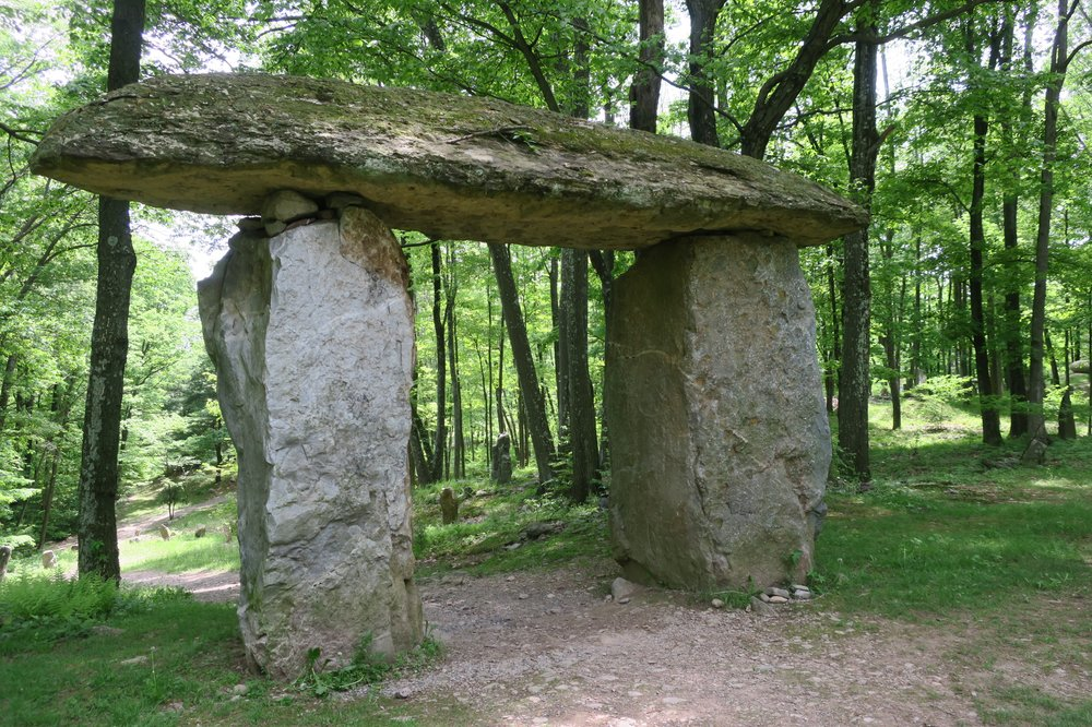 Walk and Explore Columcille Megalith Park