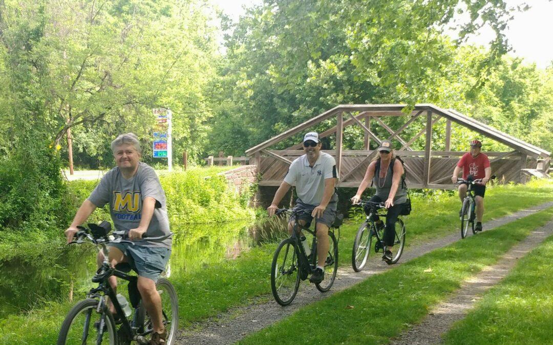 Bike the D&L in Scenic Northampton County -14 Miles