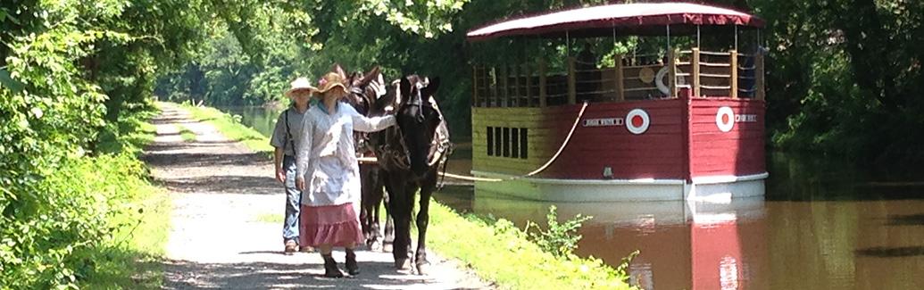 The Josiah White II Canal Boat Ride & Museum