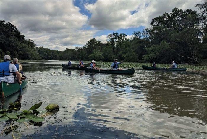 The Minsi Lake Paddle